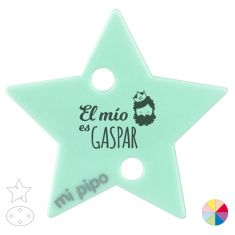 Broche Pinza Navideño El mío es Gaspar