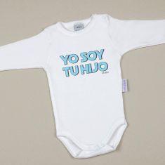 Babidu Body Divertido Yo soy tu Hijo Azul