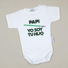 Babidu Body Divertido Papi Yo soy tu Hijo Verde