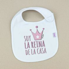 Funny Bib I'm the Queen of the House +3M