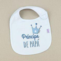 Babero Divertido Príncipe de Papá +3m