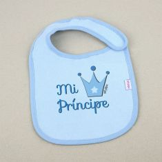 Babero Divertido Mi Príncipe +3m
