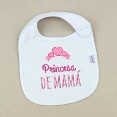 Babero Divertido Princesa de Mamá +3m
