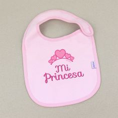 Babero Divertido Mi Princesa +3m