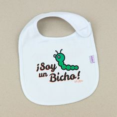 Babero Divertido Soy un Bicho +3m