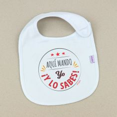 Funny Bib I rule here, and you know it!+3M