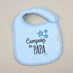 Babero Divertido Campeón de Papá +3m