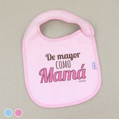 Funny Bib When I Grow up wanna be like Mom +3M