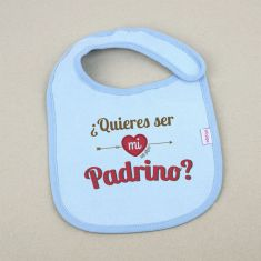Funny Bib Would you like to be my godfather? +3M