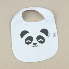 Babero Divertido Oso Panda +3m