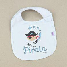 Babero Divertido Soy un Pirata +3m