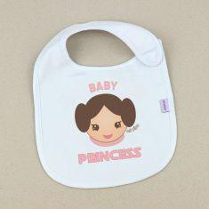 Babero Divertido Baby Princess