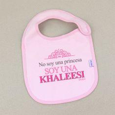 Babero Divertido No soy una princesa soy una Khaleesi