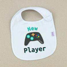 Babero Divertido New Player +3m