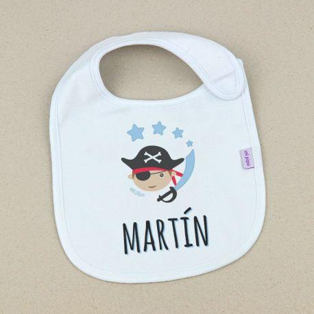 Babero Pirata Personalizado