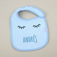 Bib Personalized Name + Crown +3M