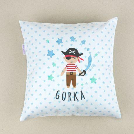 Personalized square Pirate cushion