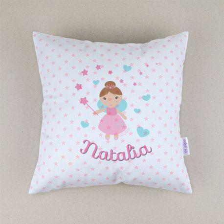 Personalized square Fairy cushion