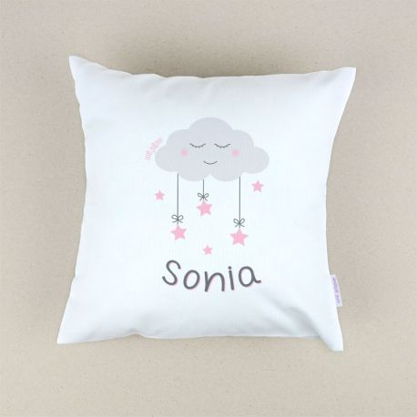 Personalized square Panda cushion