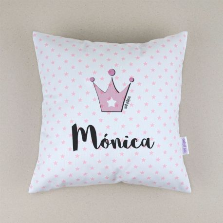 Personalized square Fairy cushion