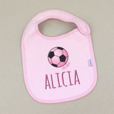 Bib Piqué Lines Blue Personalized