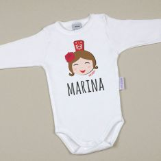 Babidu Body Divertido Feria niña personalizable