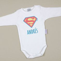 Babidu Body Personalizado Superman