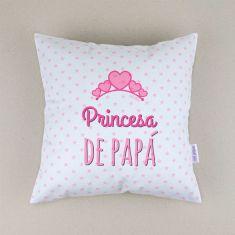 Cojín cuadrado piqué Princesa de Papá