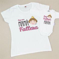 Pack 2 Prendas Soy una Mamá Fallera / Soy Fallera como mi Mamá
