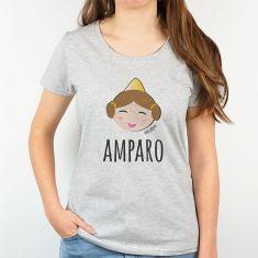 Camiseta Personalizada Mamá nombre + Fallera