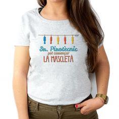 Camiseta Divertida Mamá Sr Pirotècnic, pot començar la mascletà