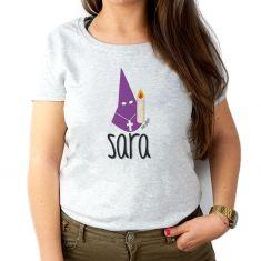 Camiseta Personalizada Mamá nombre + Nazareno