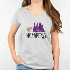 Camiseta Divertida Mamá Soy Nazarena procesión capirotes