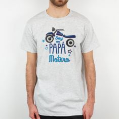 Camiseta o Sudadera Divertida Papá Soy un Papá Motero