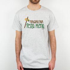 Camiseta Divertida Papá Magdalena Festa Plena caña y rollo