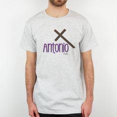Camiseta Personalizada Papá nombre + Cruz