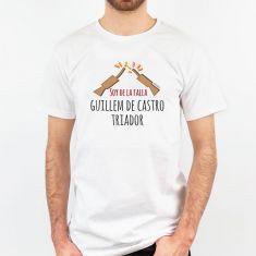 Camiseta Personalizada Papá Soy de la Falla (texto libre)