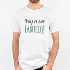 Camiseta Divertida Voy a ser ¡ABUELO!