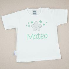 Camiseta Personalizada Bebé Estrella Sonrisa
