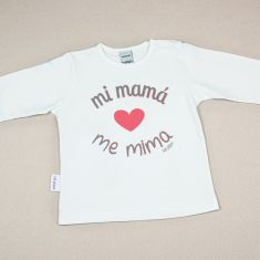 Camiseta o Sudadera Bebé y Niño/a Mi Mamá me mima
