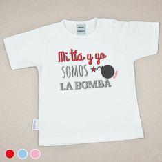 Camiseta o Sudadera Bebé y Niño/a Mi Tía y Yo somos la bomba