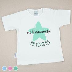 Camiseta o Sudadera Bebé y Niño/a Mi Hermanita Mi favorita