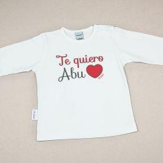 Camiseta Divertida Bebé Te Quiero Abu