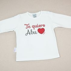 Camiseta o Sudadera Bebé y Niño/a Te Quiero Abu