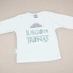 Camiseta Divertida Bebé Juego de Tronas