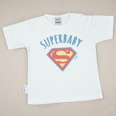 Camiseta Divertida Bebé Superbaby