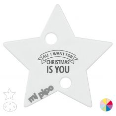 Broche Pinza Navideño All I want for Christmas is you