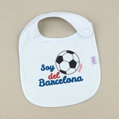 Babero Divertido Soy del Barcelona +3m