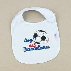 Babero Divertido Soy del Barcelona