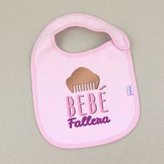 Babero Divertido Bebé Fallera +3m